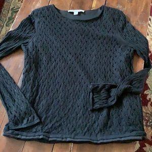 Diane Von Furstenberg black sweater